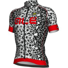 Alé Cycling Graphics PRR Agguato Bike Jersey Shortsleeve Men white/black